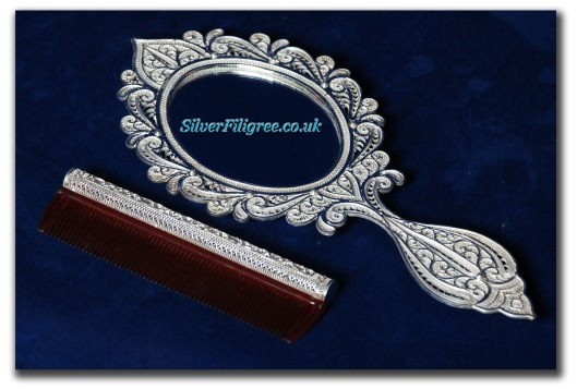Silver Filigree Accessories